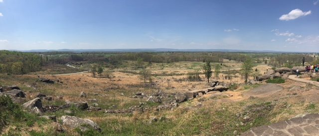 View from Little Roundtop