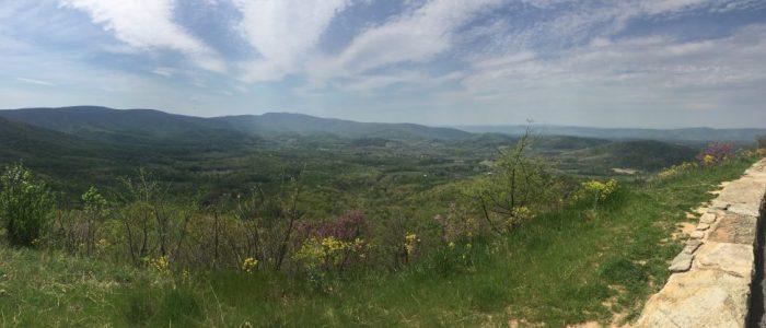 Shenandoah Valley from Skyline Drive