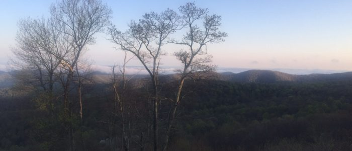 Shenandoah Valley from Blue Ridge Parkway