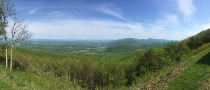Shenandoah Valley from BRP