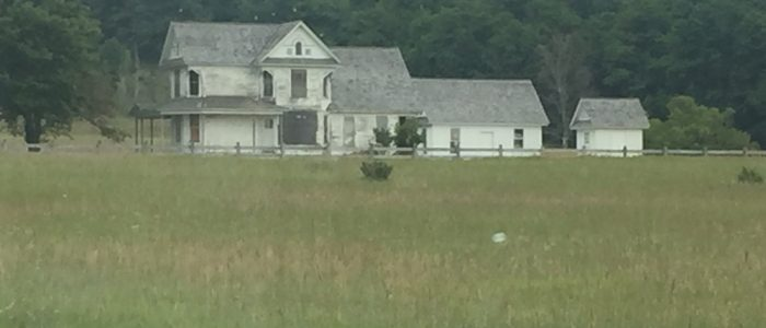 Old Farmhouse - Not on the Scenic Drive but Very Cool