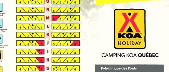 Campsite S5 Quebec KOA