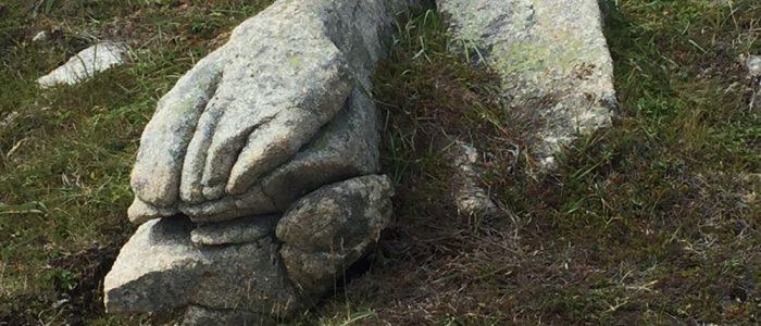 Praying Hands Rock