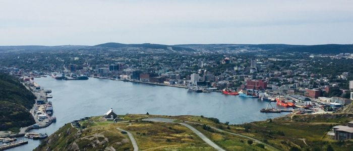 St. John's — Harbour from Signal Hill
