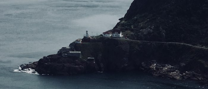 St. John's — Harbour Entrance from Signal Hill