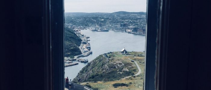 St. John's — Harbour from Cabot Tower