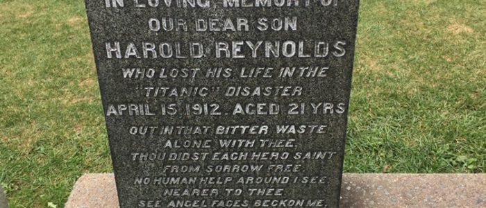 Fairview Cemetery - Titanic Victims