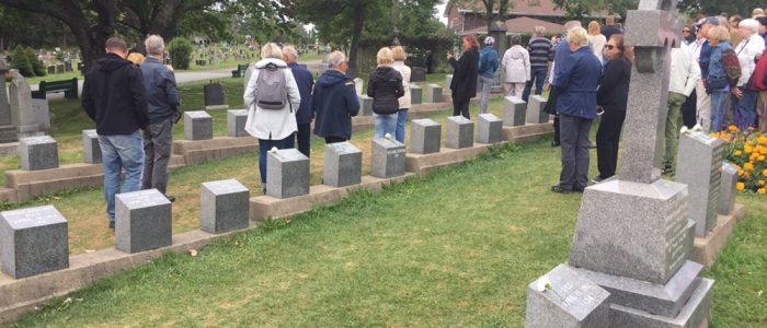 Fairview Cemetery - Titanic Victims