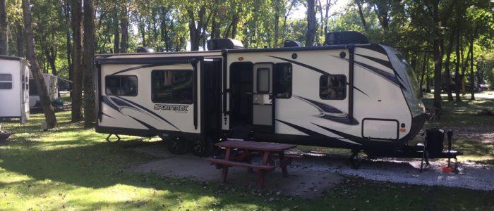Campsite - Arrowhead Marina & RV Park, Schenectady