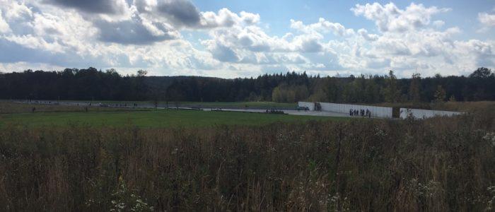 Flight 93 Memorial - Overlooking the Crash Site