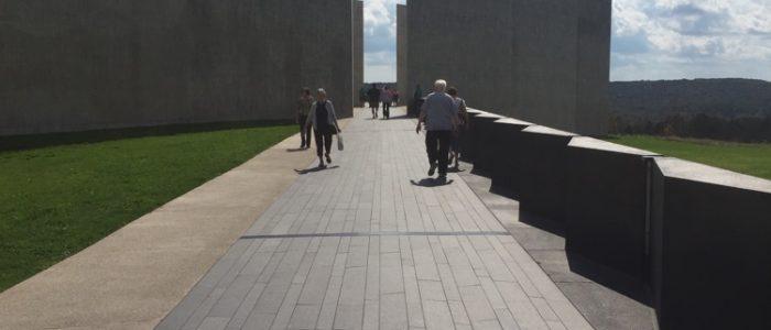 Flight 93 Memorial - Flight Path