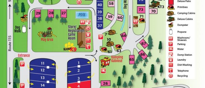 Campground - Twin Mountain KOA, Site 14