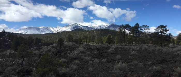 Sunset Crater Volcano National Monument - San Francisco Peaks