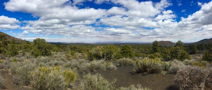 Sunset Crater Volcano National Monument - Painted Desert View