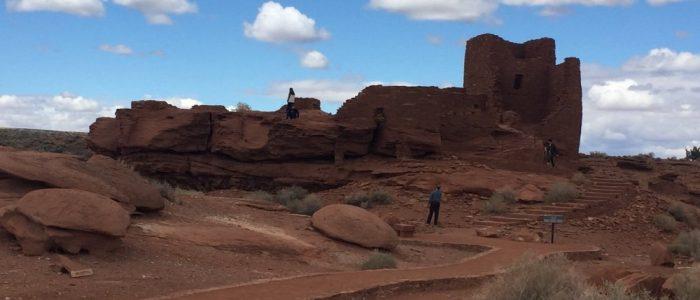 Wupatki National Monument - Wukoki Pueblo
