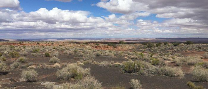 Wupatki National Monument - Painted Desert