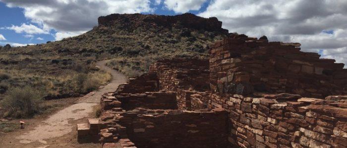 Wupatki National Monument - Citadel Pueblo