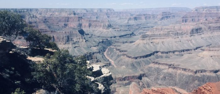 The Grand Canyon from Mojave Point