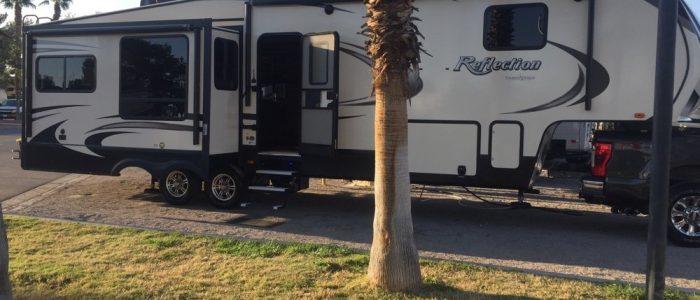 Campsite - Las Vegas KOA