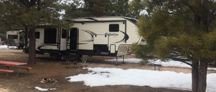 Campsite - Bryce Canyon National Park