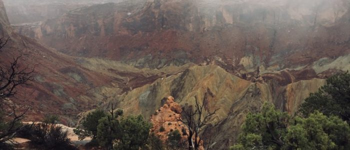 Canyonlands National Park – Island in the Sky District, Upheaval Dome