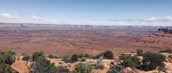 Canyonlands National Park – Overlooking Needles District