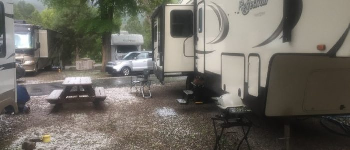 Campsite - Durango North KOA