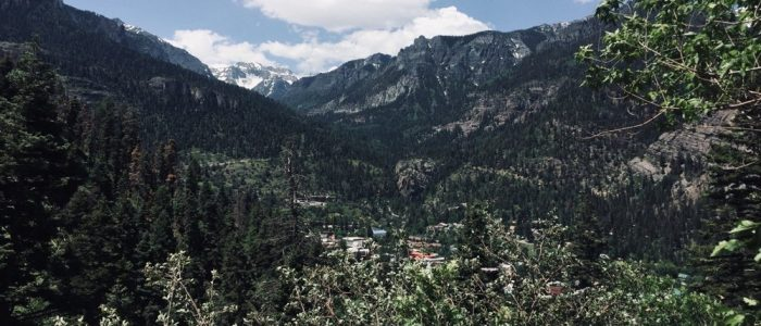 Looking onto Ouray