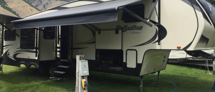 Campsite - Wagonhammer Campground