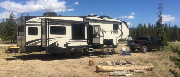 Campsite - Sawtooth National Rec Area