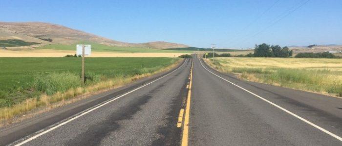 Road to Ferdinand, ID