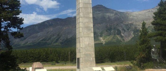 Teddy Roosevelt Memorial Near Marias Pass