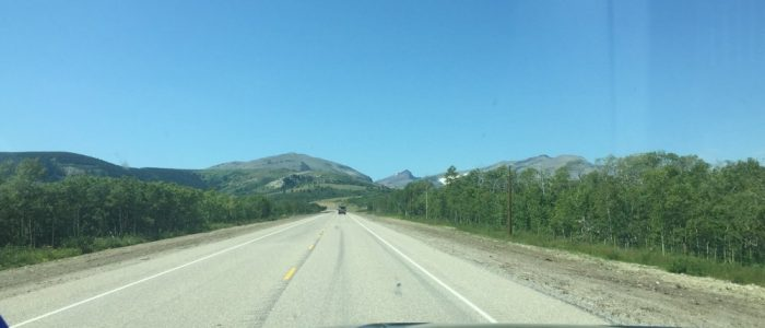US Highway 89 to St Mary