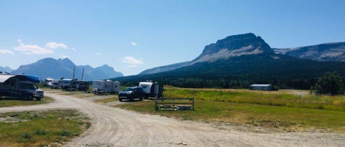 Campsite View - St Mary KOA