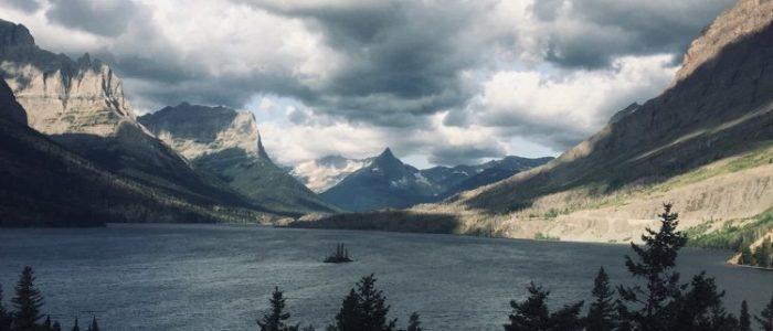 Wild Goose Island - St Mary Lake
