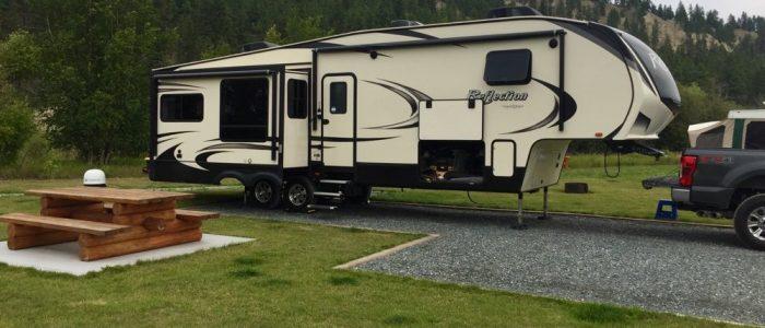 Campsite - Cranbrook KOA