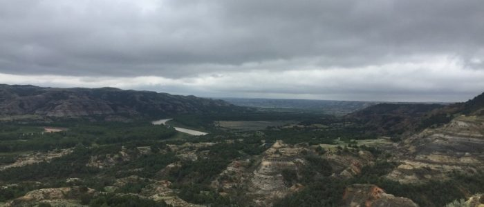 Theodore Roosevelt Natl Park - Oxbow View (7501)