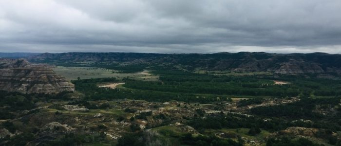 Theodore Roosevelt Natl Park - Oxbow View (7502)