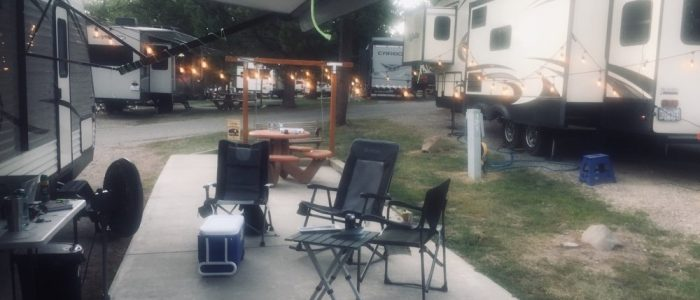 Campsite, West Yellowstone (7563)