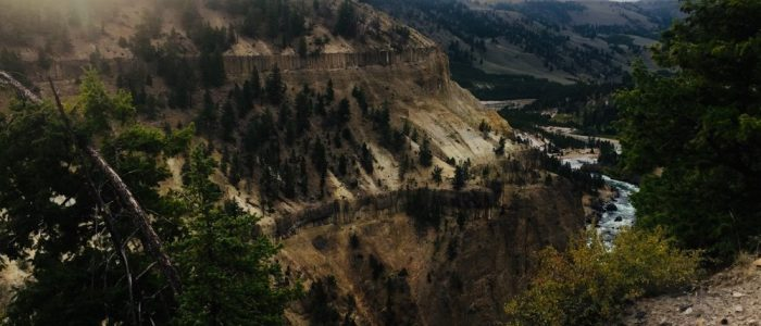 Upper Grand Canyon of the Yellowstone (7640)