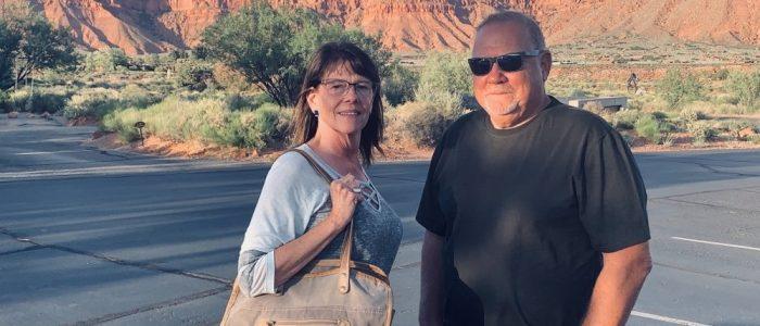 Coyote Gulch - Kathryn & Me