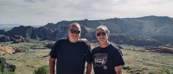 Snow Creek Canyon - Ed & Me