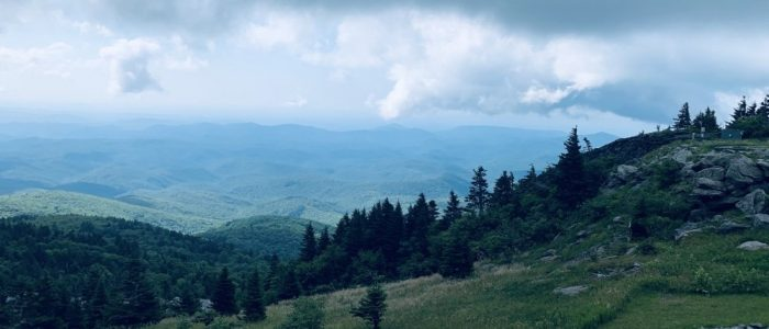 The Smokies from Grandfather Mountain