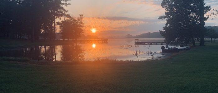 Lake Davis Sunrise
